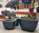 Chatsworth Fibreglass  Planters